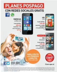 celulares CLARO gratis - 03feb15