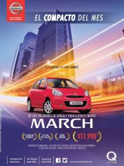 comprar un auto compacto NISSAN MARCH 2015