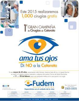 mas de 100 cirujias GRATIS de CATARATAS gracias a FUDEM