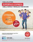 superpack express CLARO promocines habla navega mensajea - 18feb15