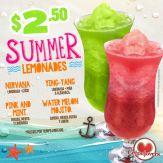 Bebidas refrescante de verano en CREPELOVERS