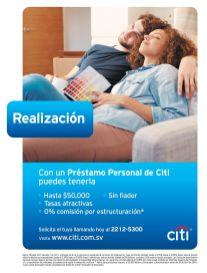 CITI bank te ofrece creditos personales hasta por 50 mil dolares