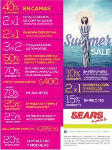 Comienza la semana santa con LOS DESCUENTOS SEARS de temporada - 27mar15