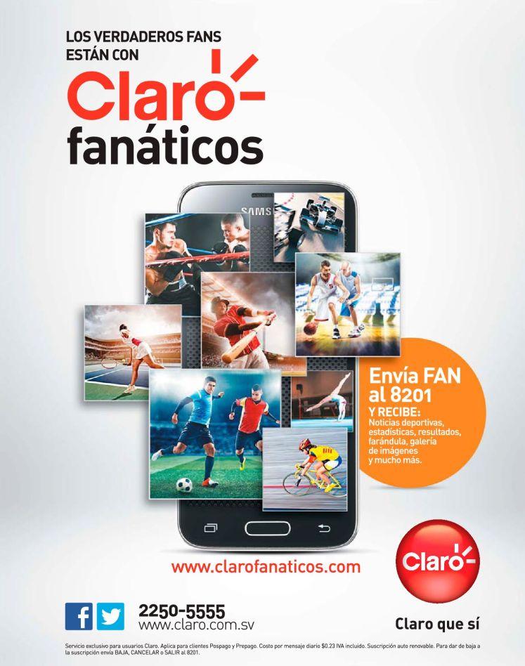 Como recibir noticias de tus deportes favoritos via CLARO