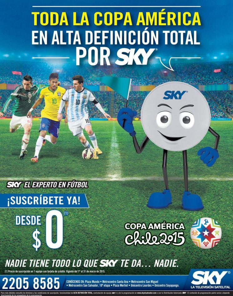 Como ver los partidos de la copa america CHILE 2015 en alta definicion