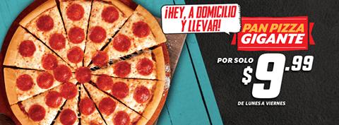 Estas listo pizza hut por solo 9.99 - 03mar15