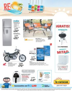 GRATIS barbacoa o mini refrigerados en LA CURACAO - 06mar15