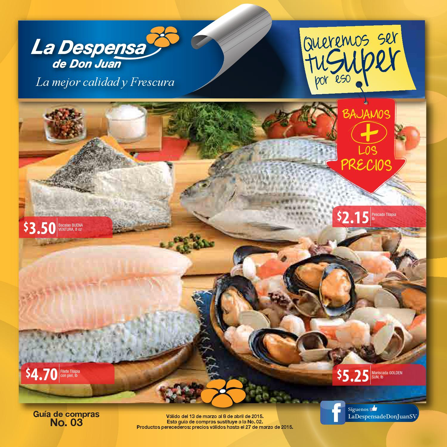 Guia de compras no 3 LA DESPENSA DE DON JUAN verano marzo 2015