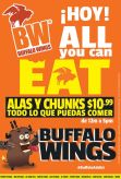 HOY all you can eat en BW restaurante - 11mar15