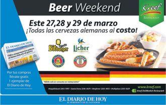 KREFF beer weekend todas las cervezas alemanas al costo
