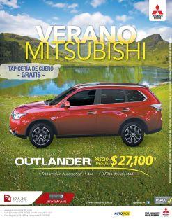 OUTLANDER 2015 mitsibishi motors - 23mar15