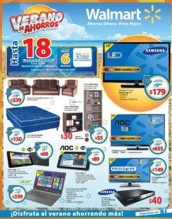 Ofertas y promociones en tecnologia para vacaciones en WALMART - 27mar15
