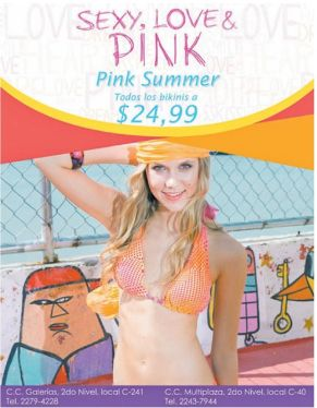 Pink SUMMER promotions SEXY LOVE PINK - 26mar15