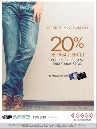 SIMAN jeans 20 por ciento de descuento - 20mar15