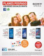 SONY XPERIA smartphone promotions by CLARO - 23mar15