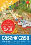 SUMMER SALE details of decorationg CASA CASA - 20mar15