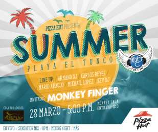SUMMER fest 2015 PLaya el tunco MONKEY FINGER