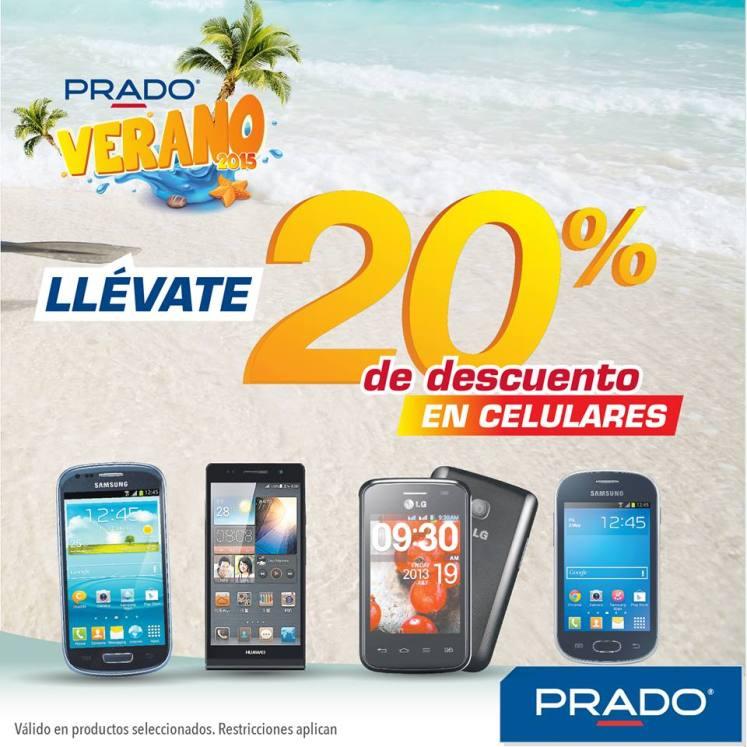 llevate tu celular nuevo en VERANO con PRADO - 04mar15
