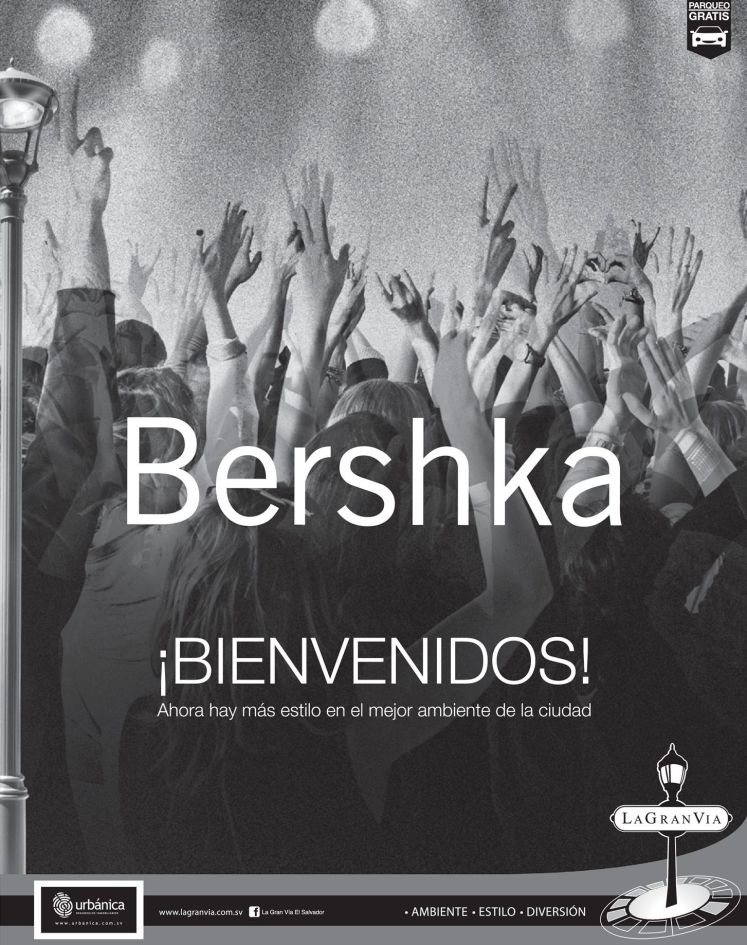 nueva tienda de ropa BERSHKA en la gran via