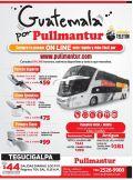precios de buses para guatemala y tegucigalpa - 17mar15