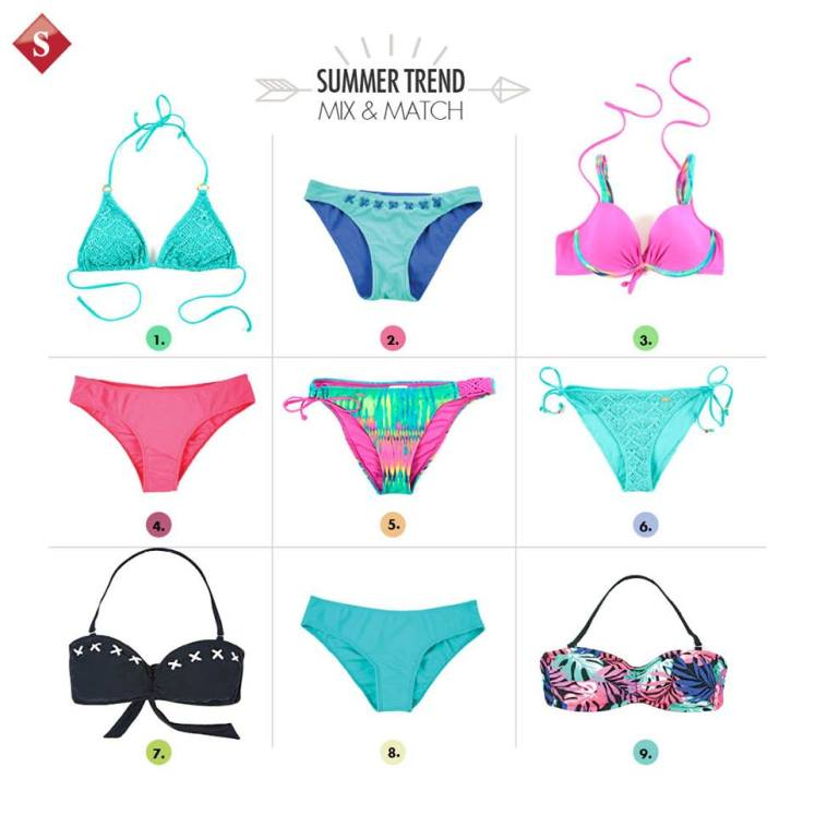 semana santa TREND of swinwear mix and match