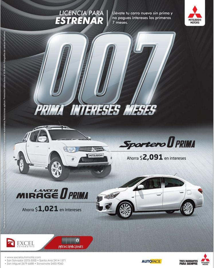 AHORRA en la compra de auto nuevo EXEL automotriz