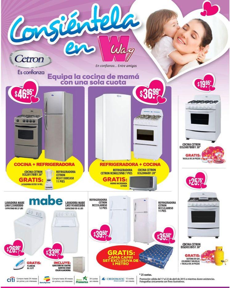 Agncias WAY precios bajos en linea blanca y elctrodomesticos - 17abr15