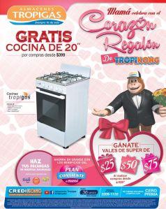 Cocina TROPIGAS una oferta para el corazon de MAMA - 30abr15