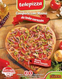 Comparte con MAMA PIZZA Corazon de telepizza - 20abr15