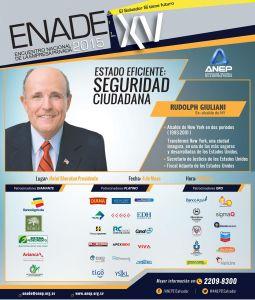 ENADE encuentro 2015 charla seguridad ciudadana RUDOLPH GIULIANI desde new york