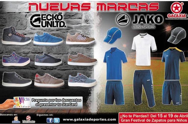 GALAXIA sport store el salvador new BRANDS - 11abr15