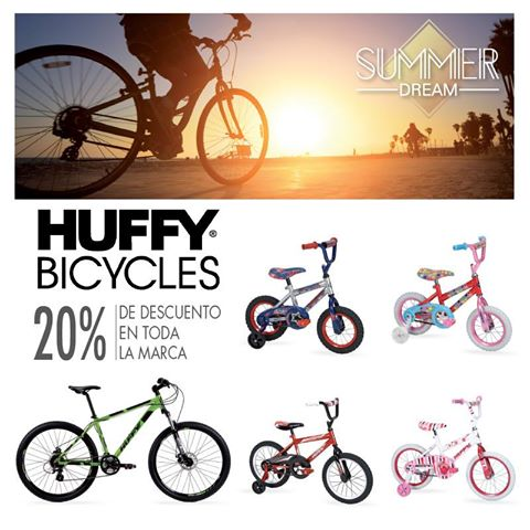 HUFFY bicycles 20 OFF descuentos siman