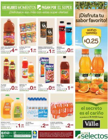 LANGERS juice oferta jugo de arandano y uva - 11abr15