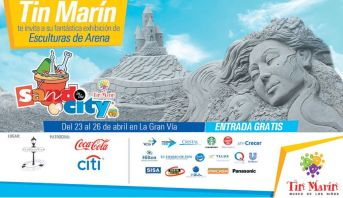 La GranVia presenta SAND in the CITY for kids entrada GRATIS
