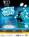 La prensa grafica presenta TWEET PARTY 2015