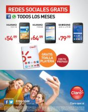 Mas promociones de verano gracias a CLARO - 01abr15