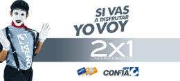 Membership CARD AFP confia el salvador 2x1 cinemark theater