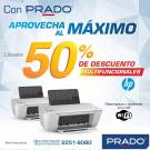 Multifuncionales HP con wifi con 50 OFF - 17abr15