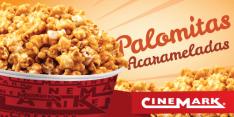 Nuevas y deliciosas palomitasacarameladas de cinemark