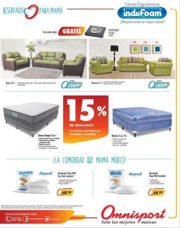 OMNISPORT tiene 15 OFF en muebles y camas - 30abr15