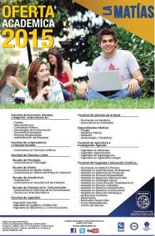 Ofertas academica 2015 en LA MATIAS el salvador