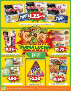 Ofertas en galletas y golosinas DESPENSA FAMILIAR - 15abr15
