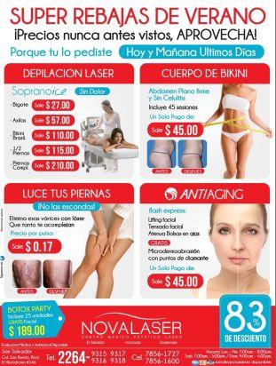 PEELING anti AGING bikini body LASER solutions - 14abr15