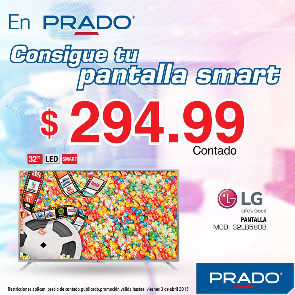 Pantalla LED gigante y smart TV PRADO ofertas