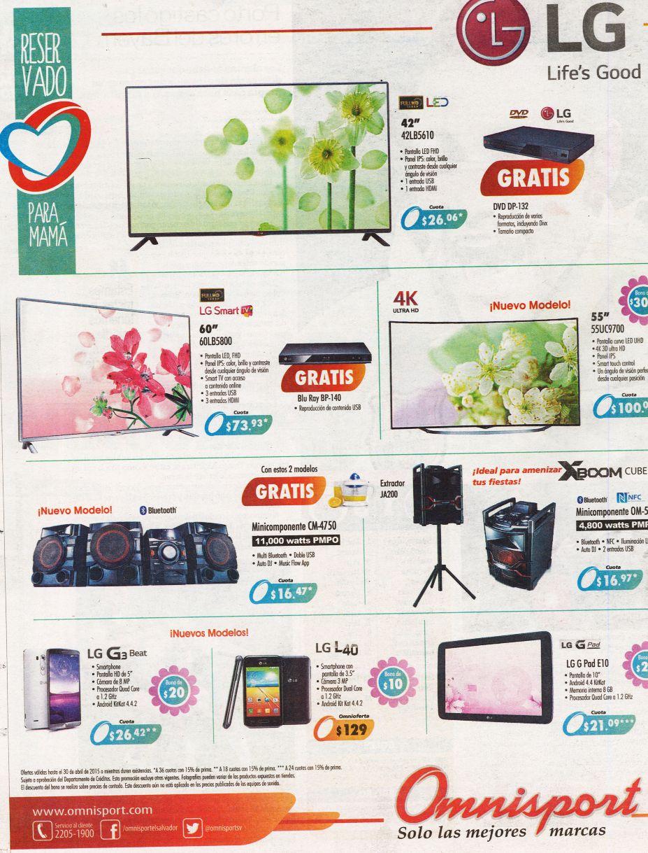 Ponele un toque de tecnologia a tu casa con OFERTAS Omnisport - 16abr15
