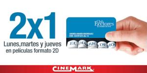 Promocion 2x1 CINEMARK con suscripcion Club de lectores La prensa grafica