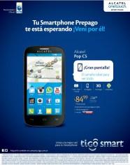 REBAJADO smartphone alcatel POP c5 84.99 doalres gracias a TIGO - 09abr15