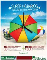 SUPER SELECTOS toma nota de sus horarios de semana santa 2015