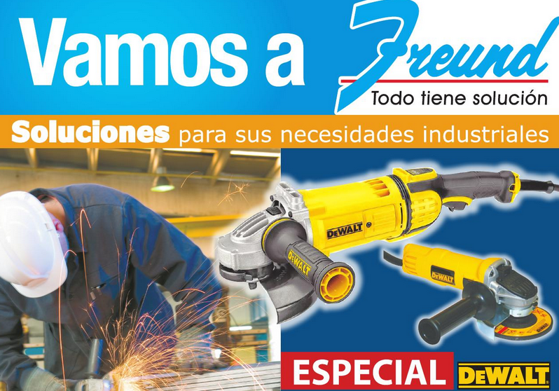 Vamos a FREUND materiales y herramientas industriales