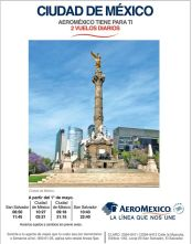 Viaja a MEXICO via AEROMEXICO - 18abr15